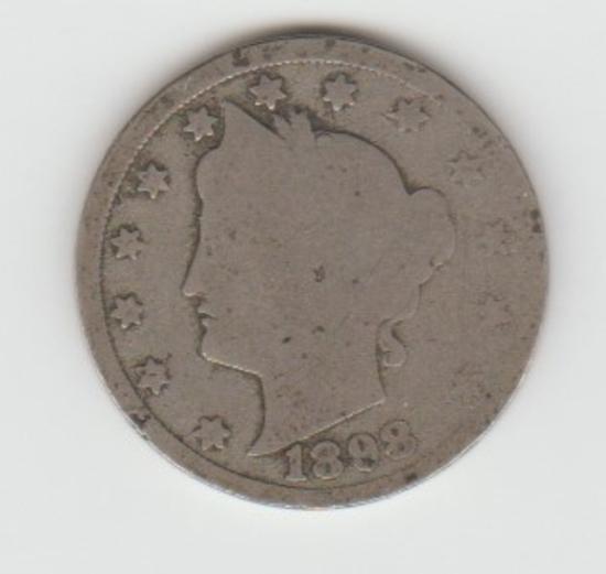 1898 LIBERTY V NICKEL