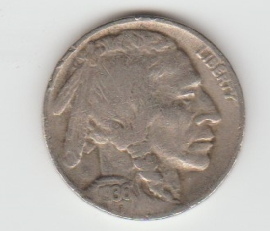 1936D BUFFALO NICKEL