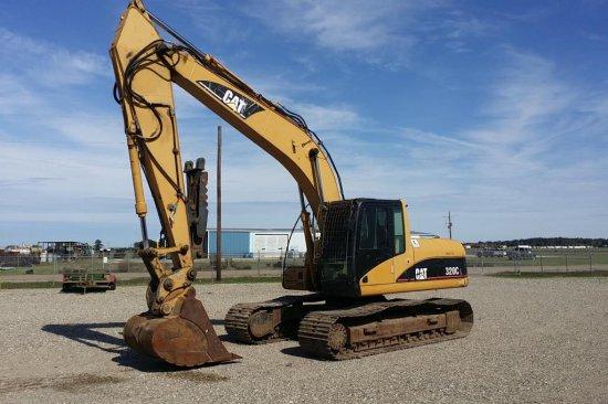2002 Caterpillar 320CL Hydraulic Excavator