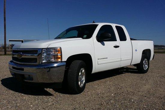 2012 Chevrolet C1500 Silverado 1/2 Ton Pickup Truck
