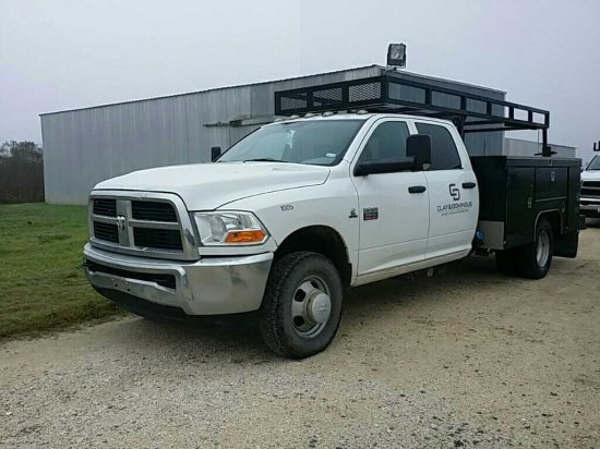 2012 Dodge Ram 3500 1 Ton Service Truck