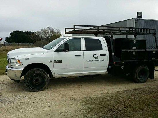 2013 Dodge Ram 3500 1 Ton Service Truck