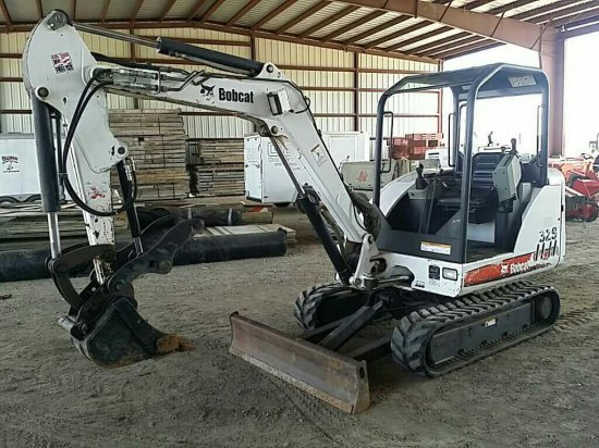 2008 Bobcat 329G Hydraulic Mini Excavator