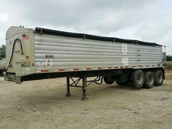 2012 Travis 33 FT. S/96 Tri-Axle Dump Trailer