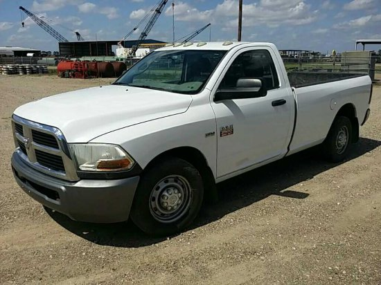 2011 Dodge 2500 3/4 Ton Pickup Truck