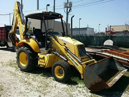 New Holland B95 Loader Backhoe