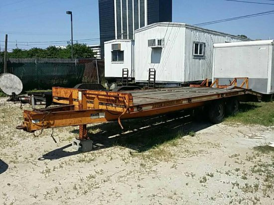 Econoline Trailer Inc. MP423DE Pintle Hitch Equipment Trailer