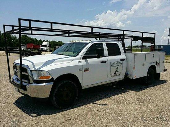 2011 Dodge 3500 Crew Cab 1 Ton Service Truck