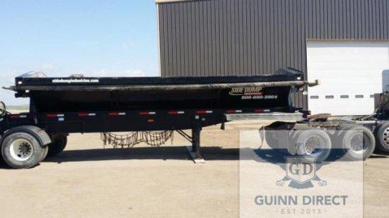 2014 SDI (Side Dump Industries) Tri-Axle Side Dump Trailer (Front Pup)