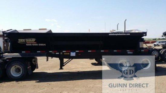 2014 SDI (Side Dump Industries) Tandem-Axle Side Dump Trailer (Rear Pup)