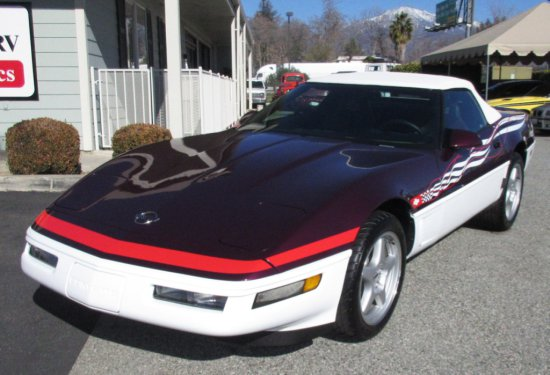 1995 Chevrolet Corvette CVT Indy Pace Car