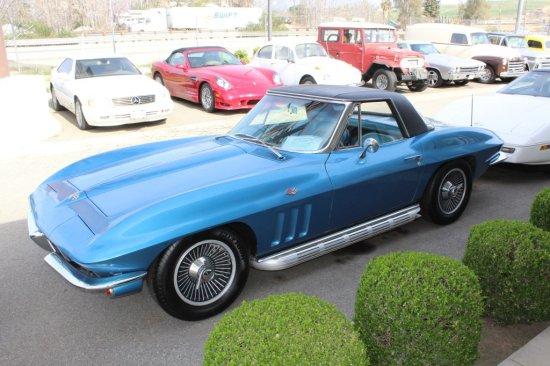 65' Corvette Convertible