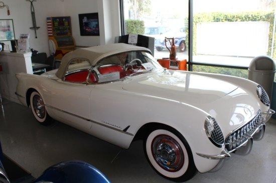 54' Chevrolet Corvette Convertable
