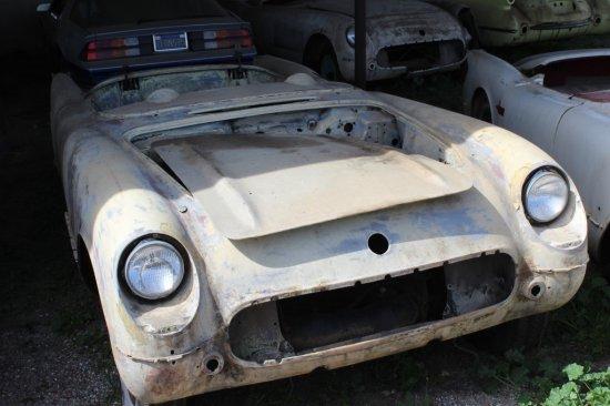 54/55? Chevrolet Corvette