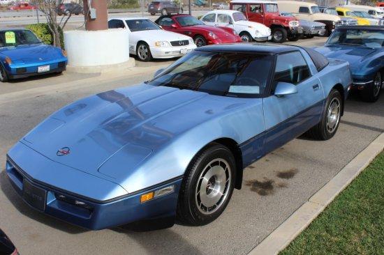 85' Chevrolet Corvette Coupe