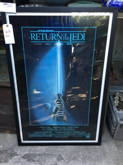 Star Wars Return Of The Jedi Original Poster