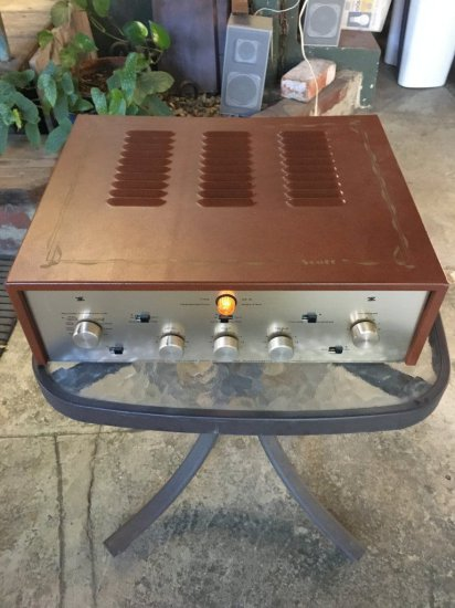 Scott Glass Tube Amplifier Vintage