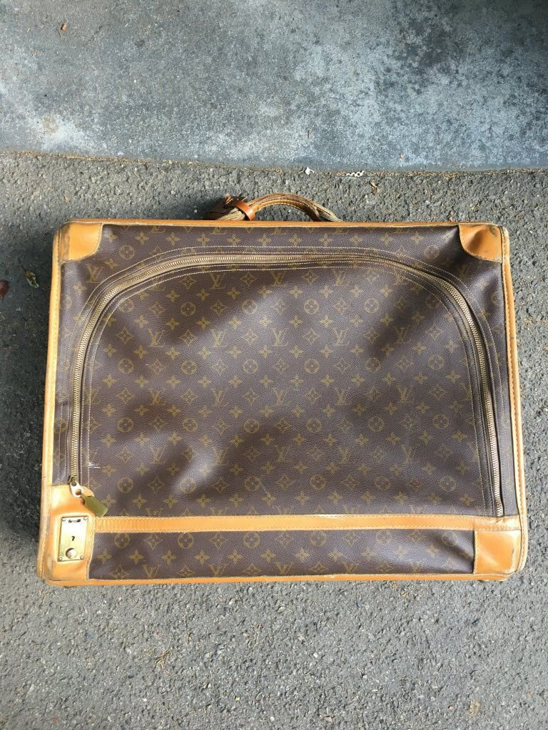 Louis Vuitton Vintage Suitcase 1960s