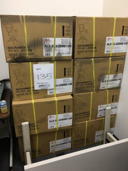 8 Alera Chairs Elusion Series New In Box