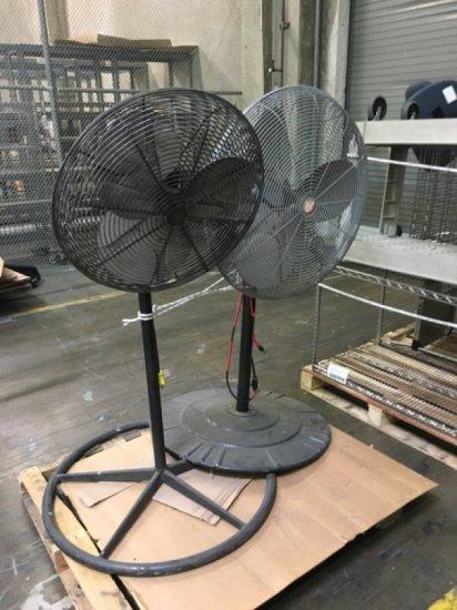 2 Industrial Fans