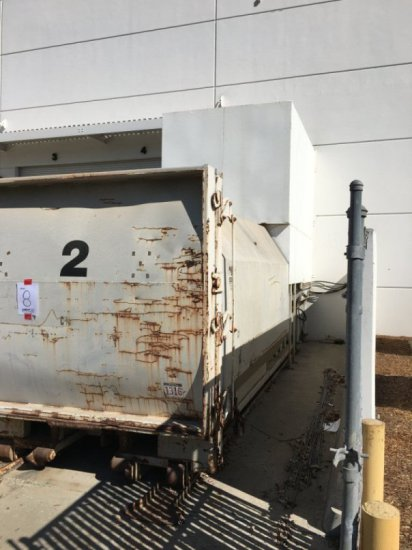 Industrial Trash Compactor