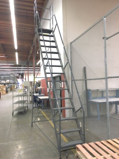 Large Warehouse Step Ladder