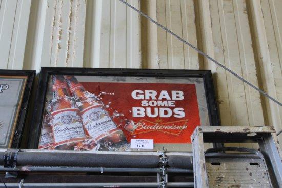 Busweiser Poster Framed