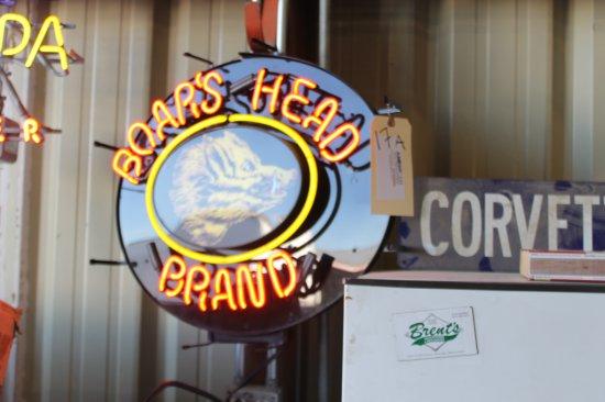 Boars Head Neon Sign