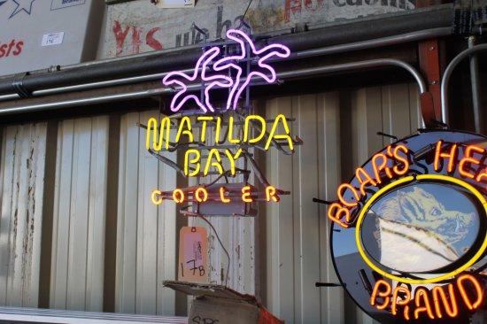 Matilda Bay Cooler Neon Sign