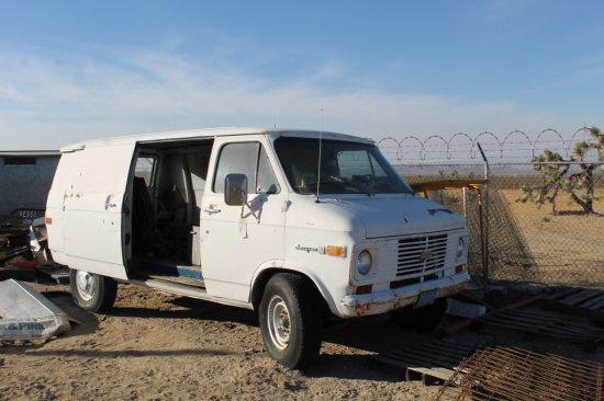 Chevy Panel Van