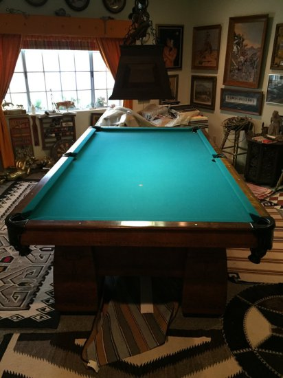 Brunswick Deco Pool Table