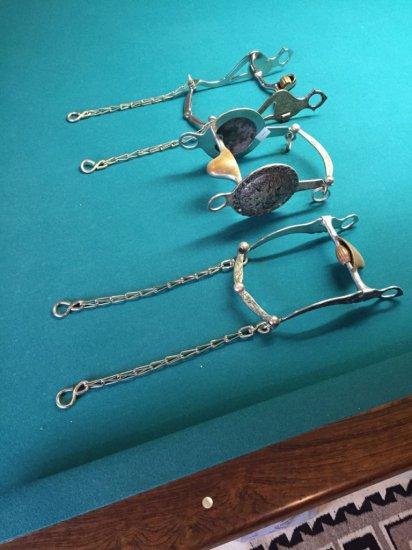 Garcia Horse Bit Silver Collection