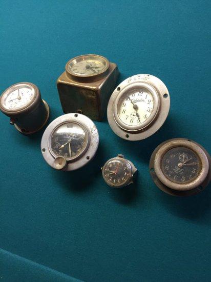 Vintage Automobile Portable Clocks Carwatch Collection