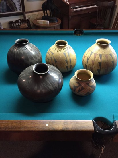 American Indian Primitive Pottery