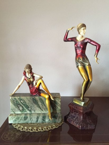 Chiparus Art Deco Figurines