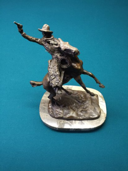 Cowboy Bronze by Russell