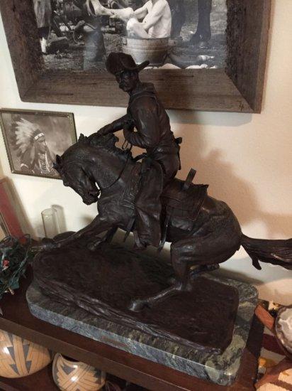 Cowboy by Fredric Remington