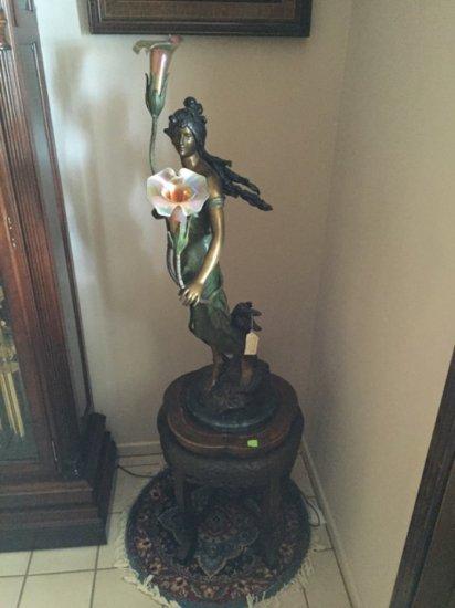 Moreau Bronze Lamp