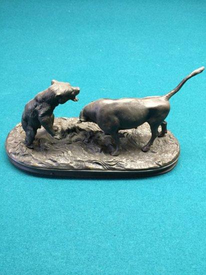 P.J. Mene Bull & Bear Bronze