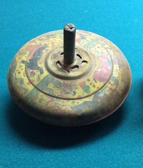 Tin Spinning Top