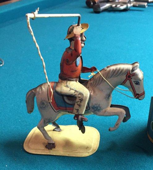Cowboy Tin Toy