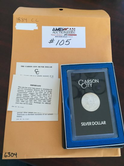 Carson City Silver Dollar Coin Collectible