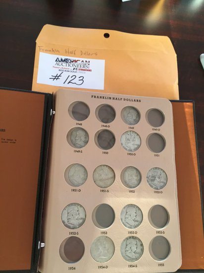 Franklin Half Dollar Coin Collection