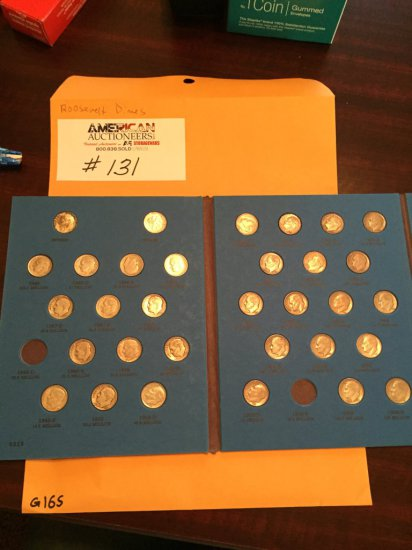 Roosevelt Dimes US 10 Cent Coin Collection