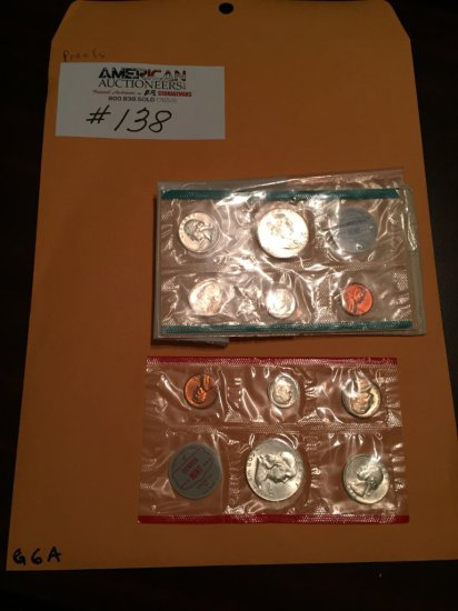 US Currency Mint Coin Collection