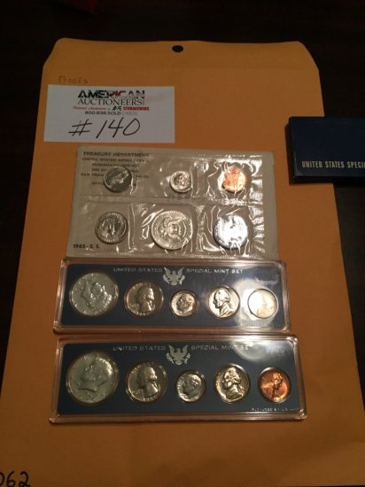 US Currency Proof Coin Collection