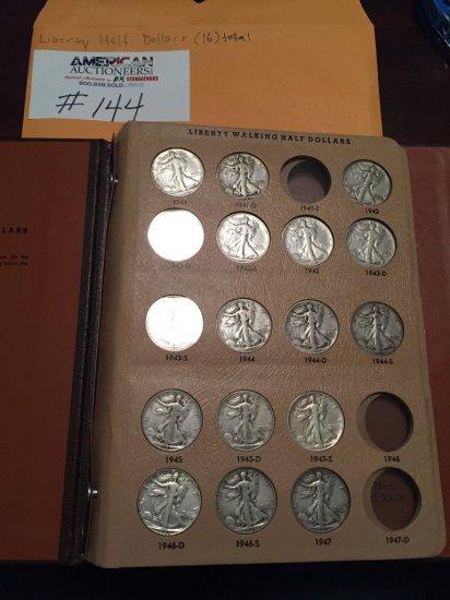 US Liberty Half Dollar Coin Collection