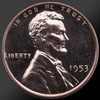 1953 Lincoln Cent Penny Gem Proof Coin!