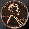 1962 Lincoln Cent Penny Gem Proof Coin!