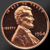1964 Lincoln Cent Penny Gem Proof Coin!